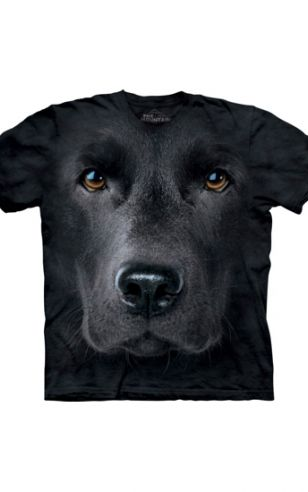 All-over print t-shirt met Labrador