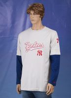 Kleding New York Yankees t-shirt lange mouw