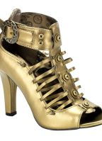 Bronzen Demonia pumps voor dames