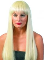Barbie dames pruiken blond