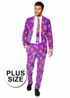 Grote maat business suit day of the dead