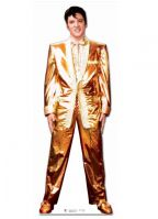 Star cut-out Elvis Presley in gold